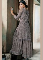 Embroidered Net Designer Pakistani Suit