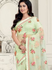 Embroidered Organza Classic Saree