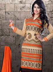 Embroidered Party Designer Straight Suit