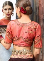 Embroidered Work Classic Designer Saree