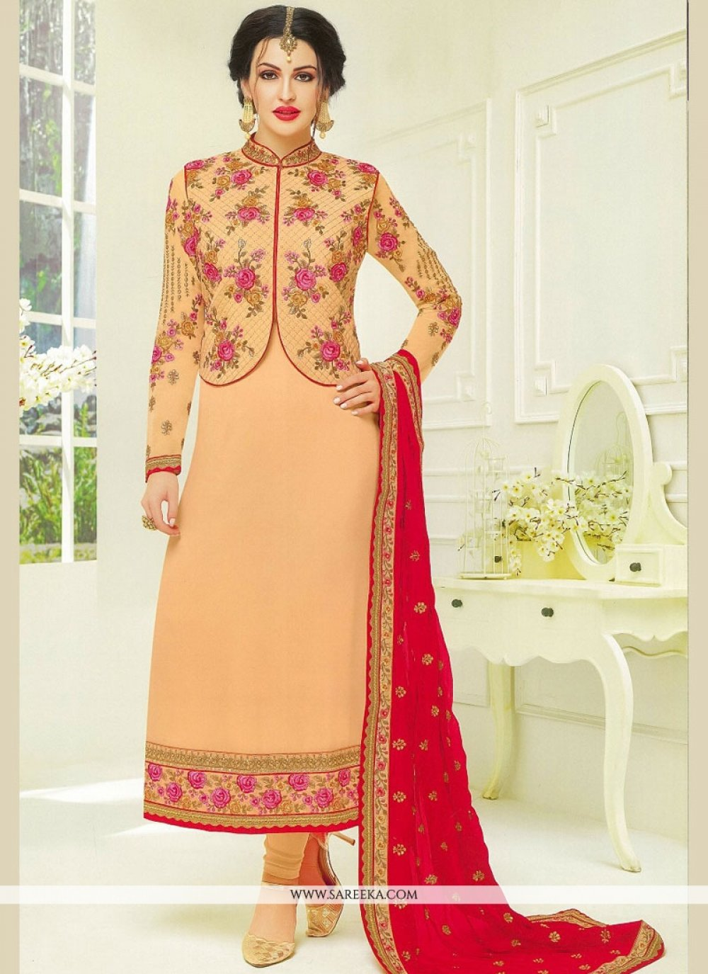 Embroidered Work Designer Suit