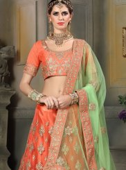 Embroidered Work Net Lehenga Choli