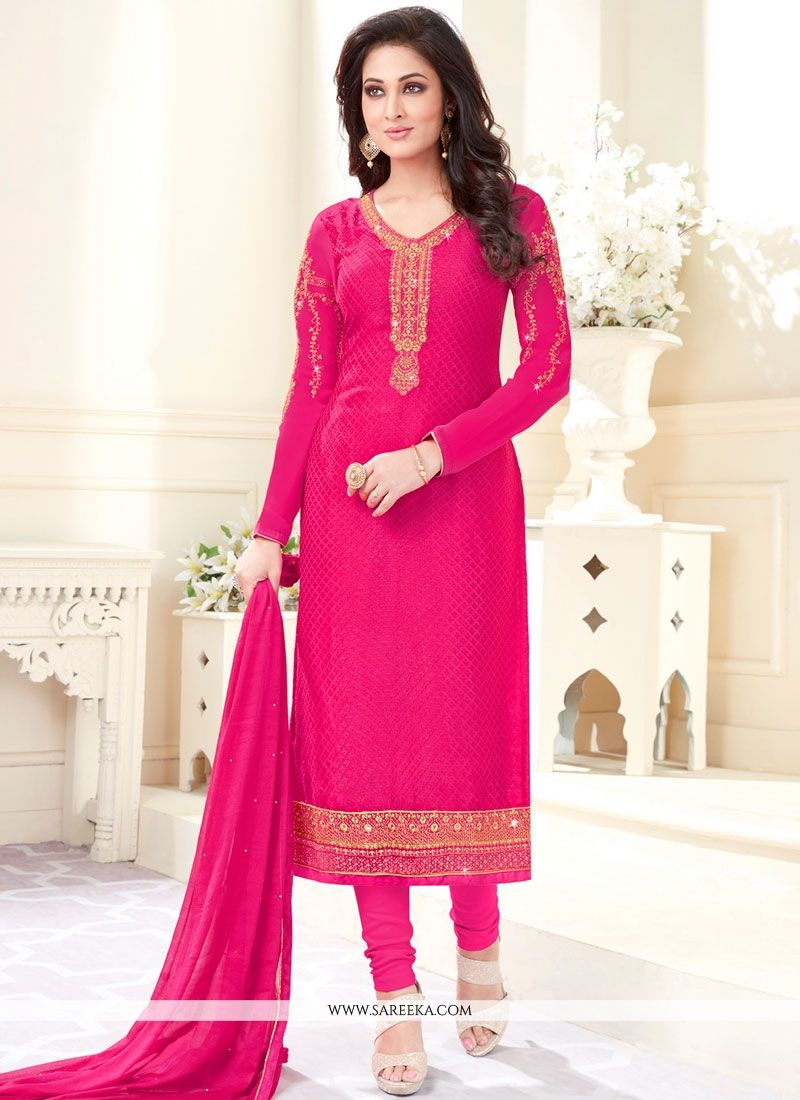 Embroidered Work Salwar Kameez