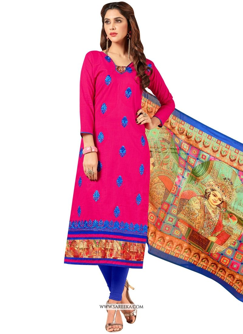Embroidered Work Salwar Suit