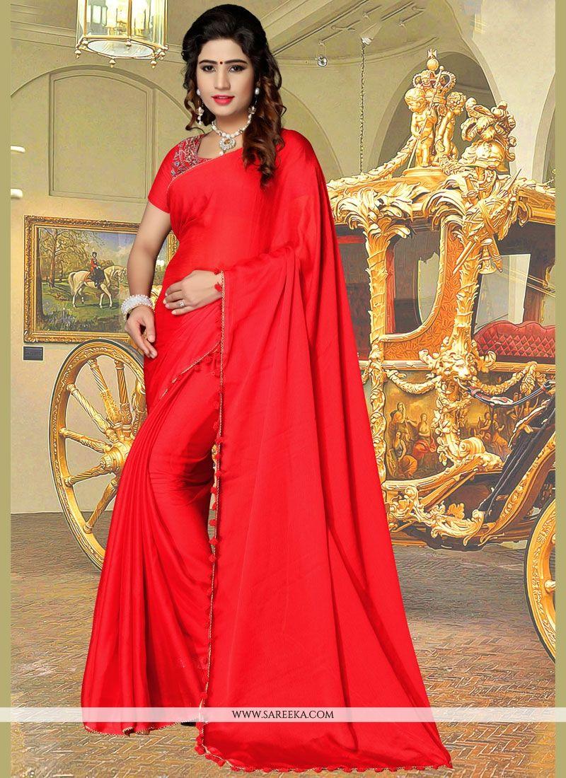 Fancy Fabric Casual Saree