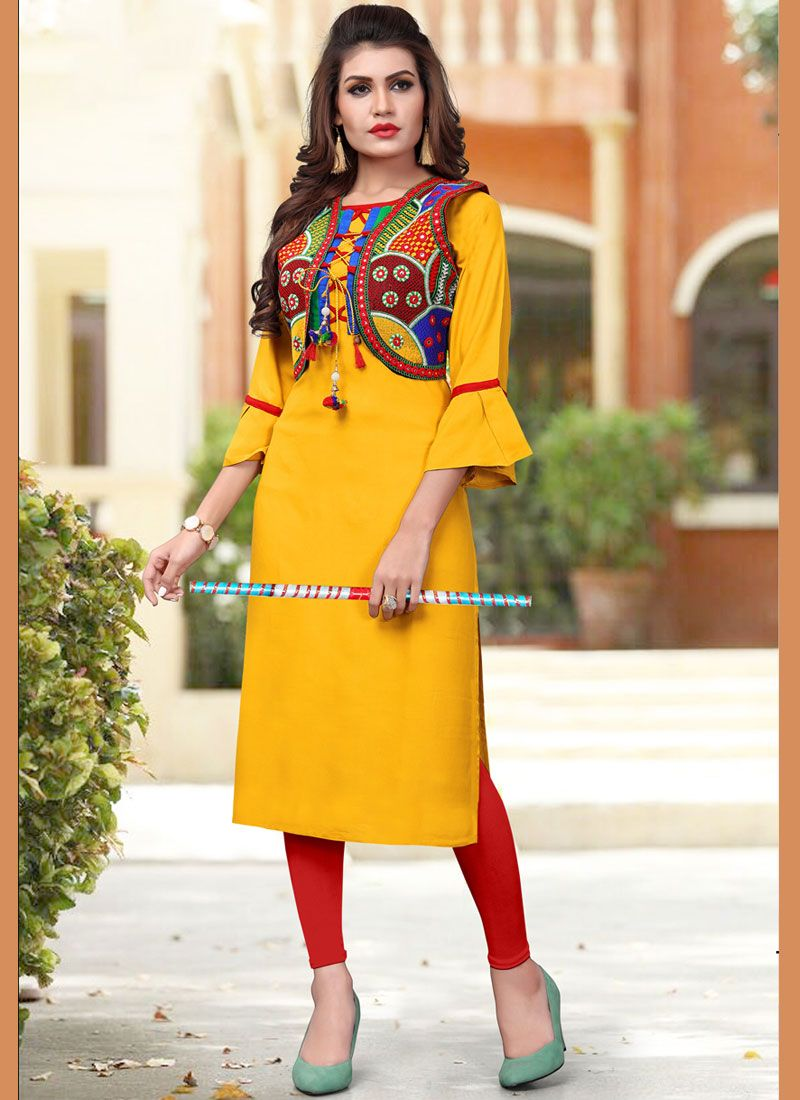 0a038f65a Shop Fancy Fabric Party Party Wear Kurti Online   88271 -