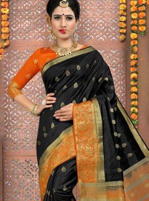 Fancy Fabric Weaving Classic Designer Saree