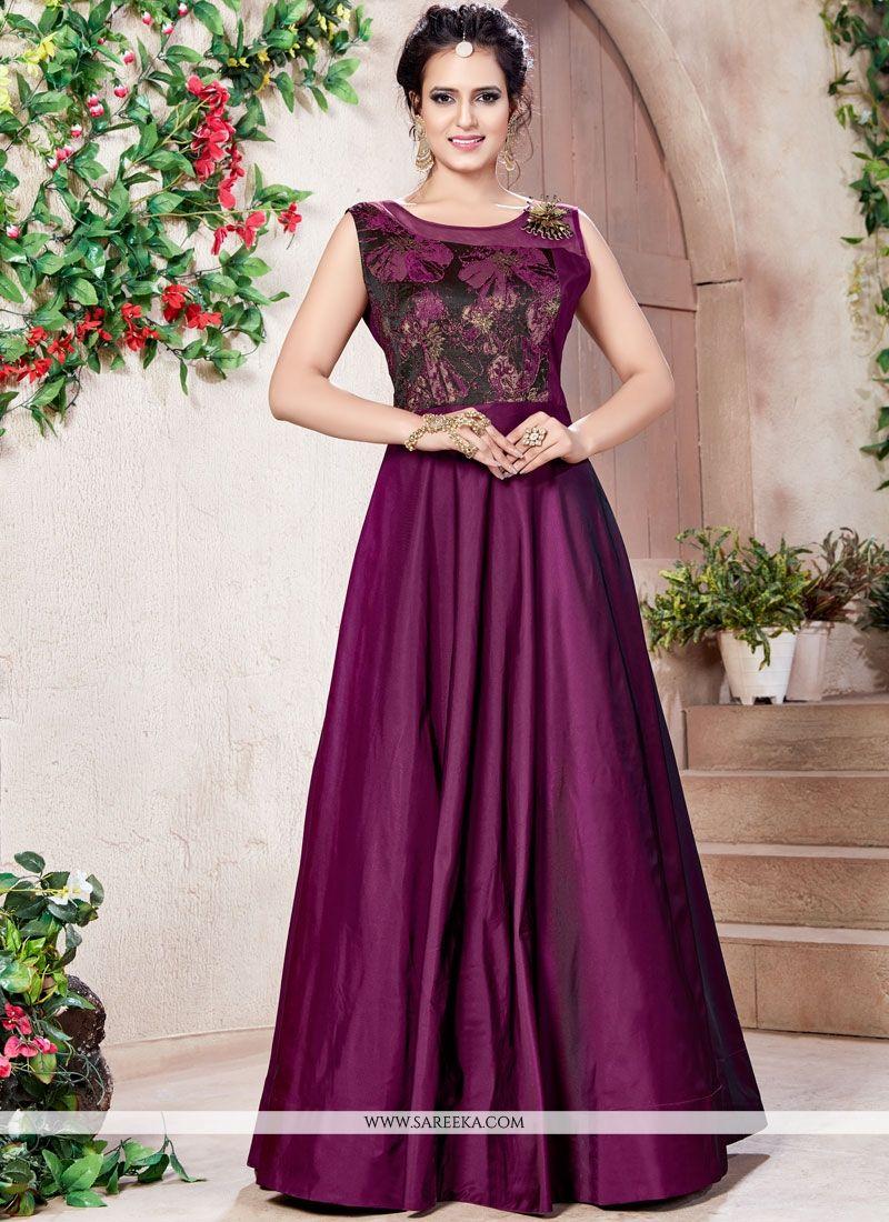 Fancy work Work Designer Gown