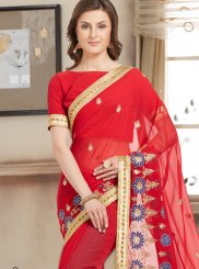Faux Chiffon Bollywood Saree