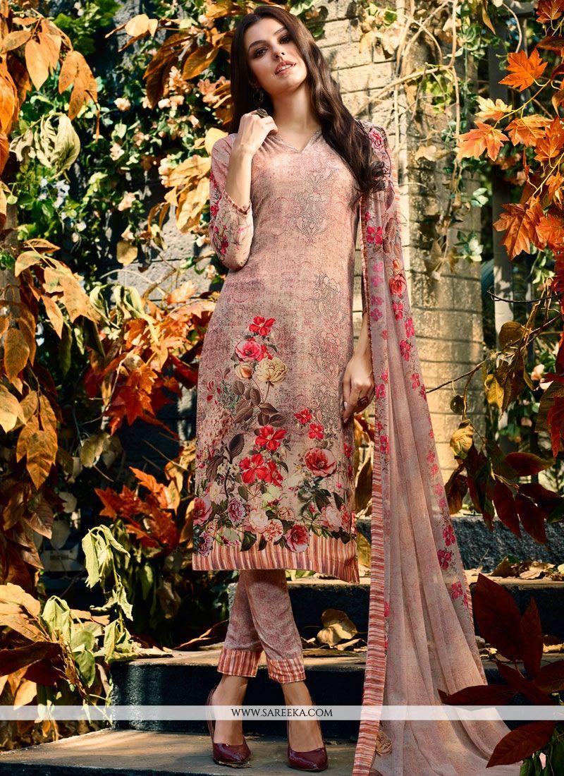 91c02d0838 Buy Faux Crepe Multi Colour Designer Palazzo Salwar Kameez Online : 73193 -