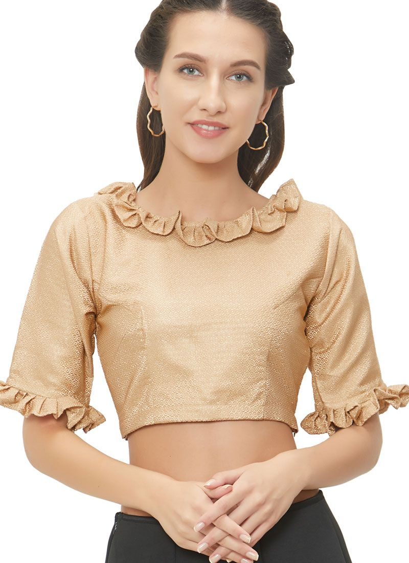 Fetching Designer Blouse With Embroidery Work