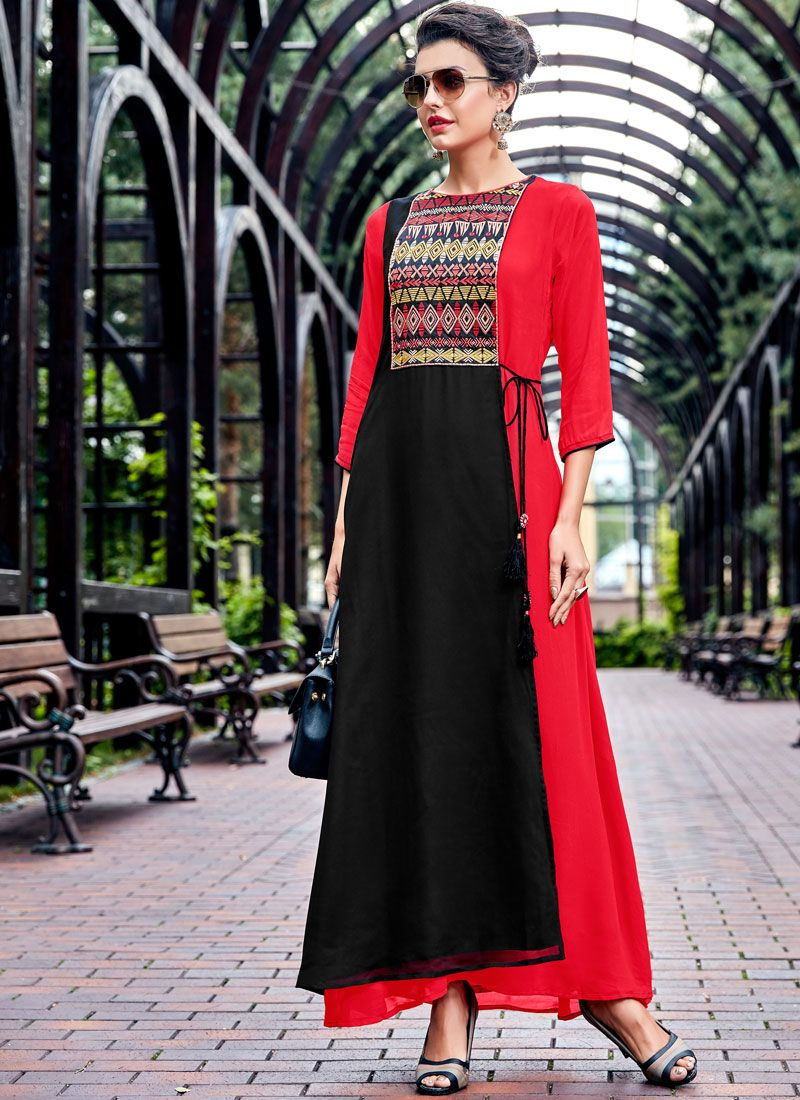 Georgette Party Wear Kurti