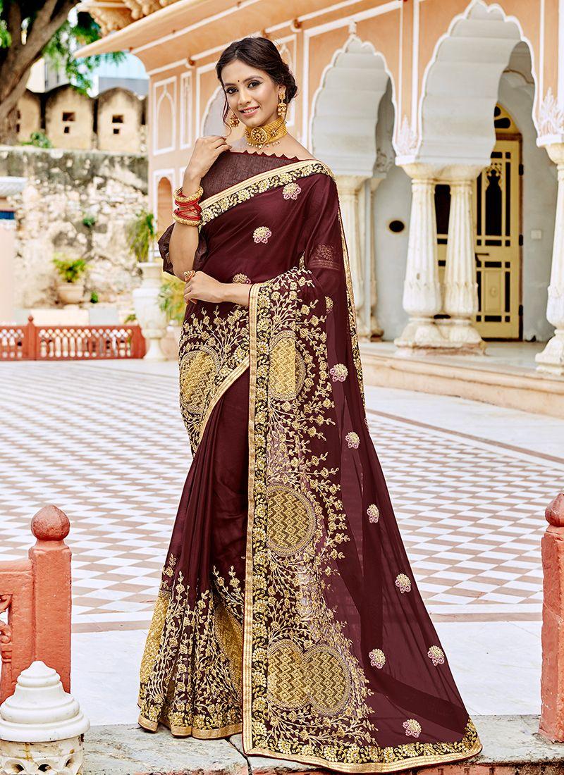 Georgette Wedding Classic Saree