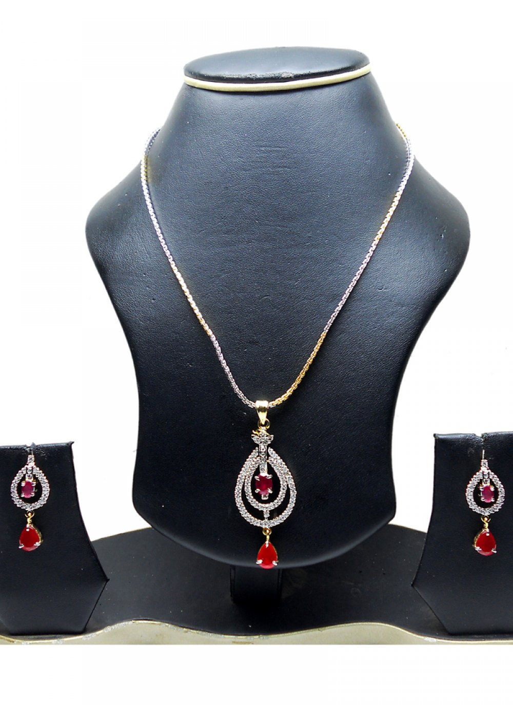 Gold and Silver Ceremonial Pendant Set