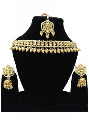 Gold Stone Wedding Bridal Jewellery