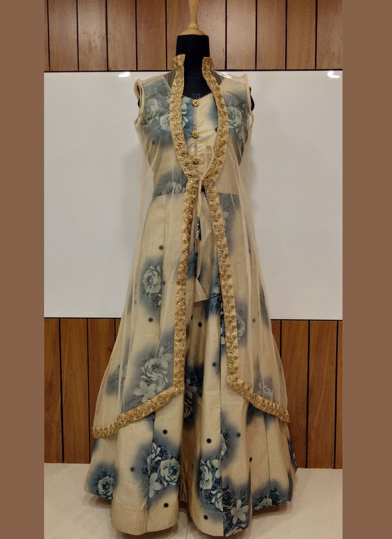 Grey Festival Designer Gown
