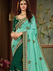 Half N Half Designer Saree For Festival