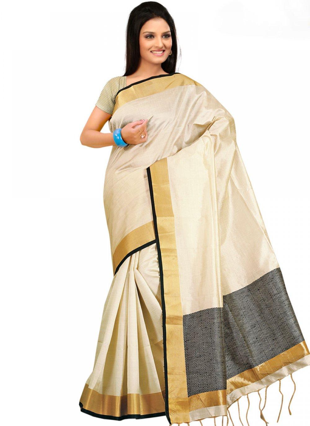 Handloom silk Traditional Designer Saree