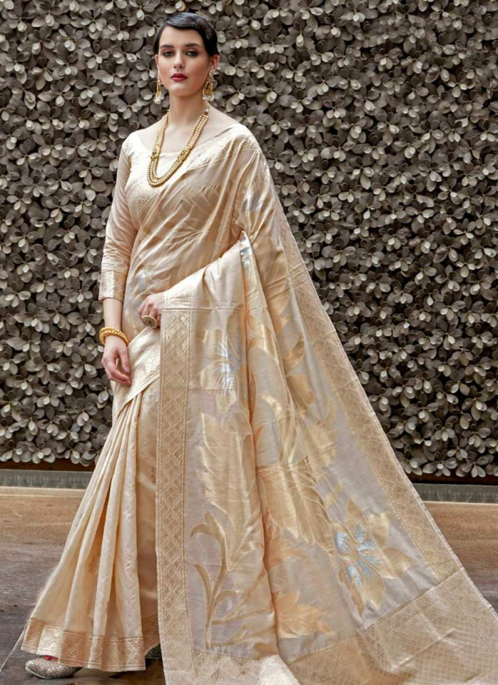 Handloom silk Traditional  Saree