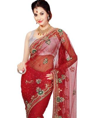 Handwork Work Classic Designer Saree