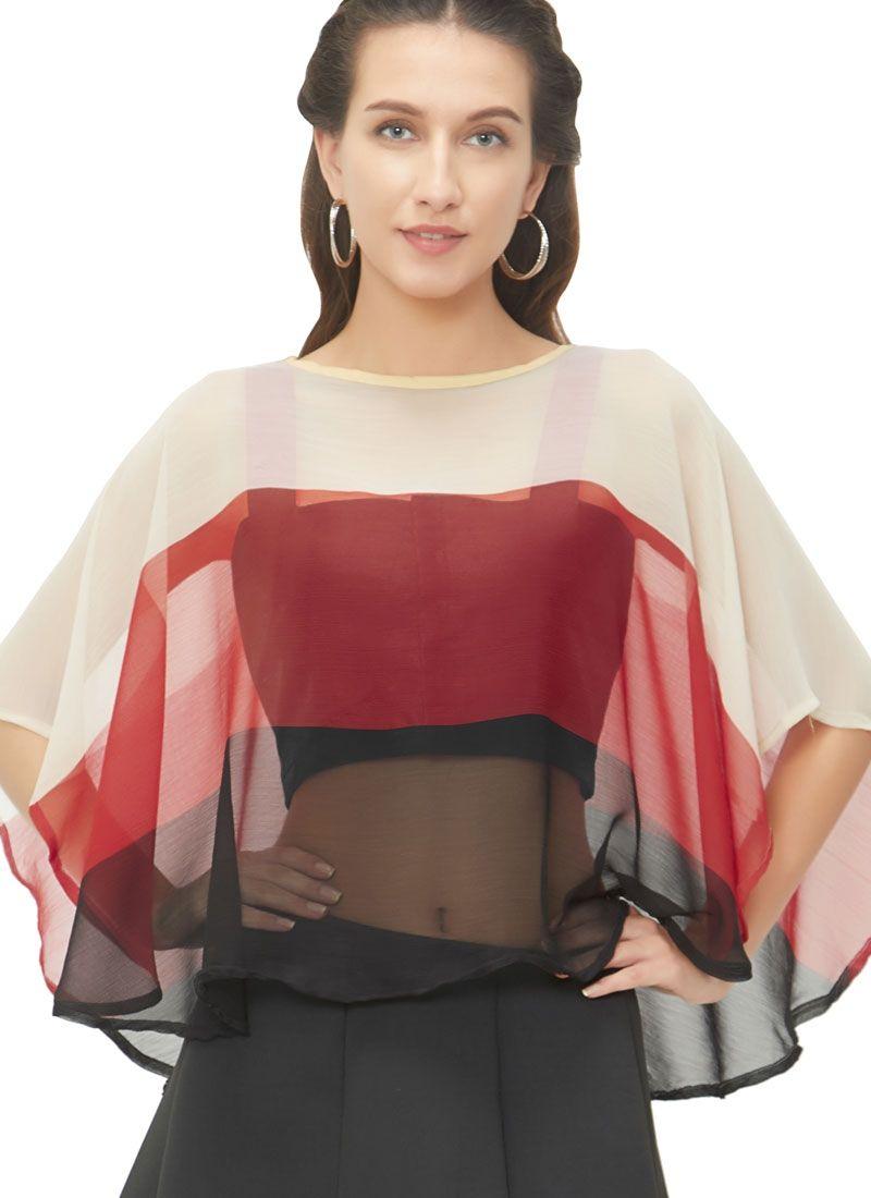Invigorating Multicolor Readymade Blouse
