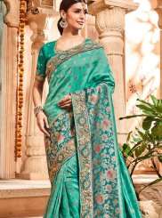 Jacquard Silk Border Trendy Saree