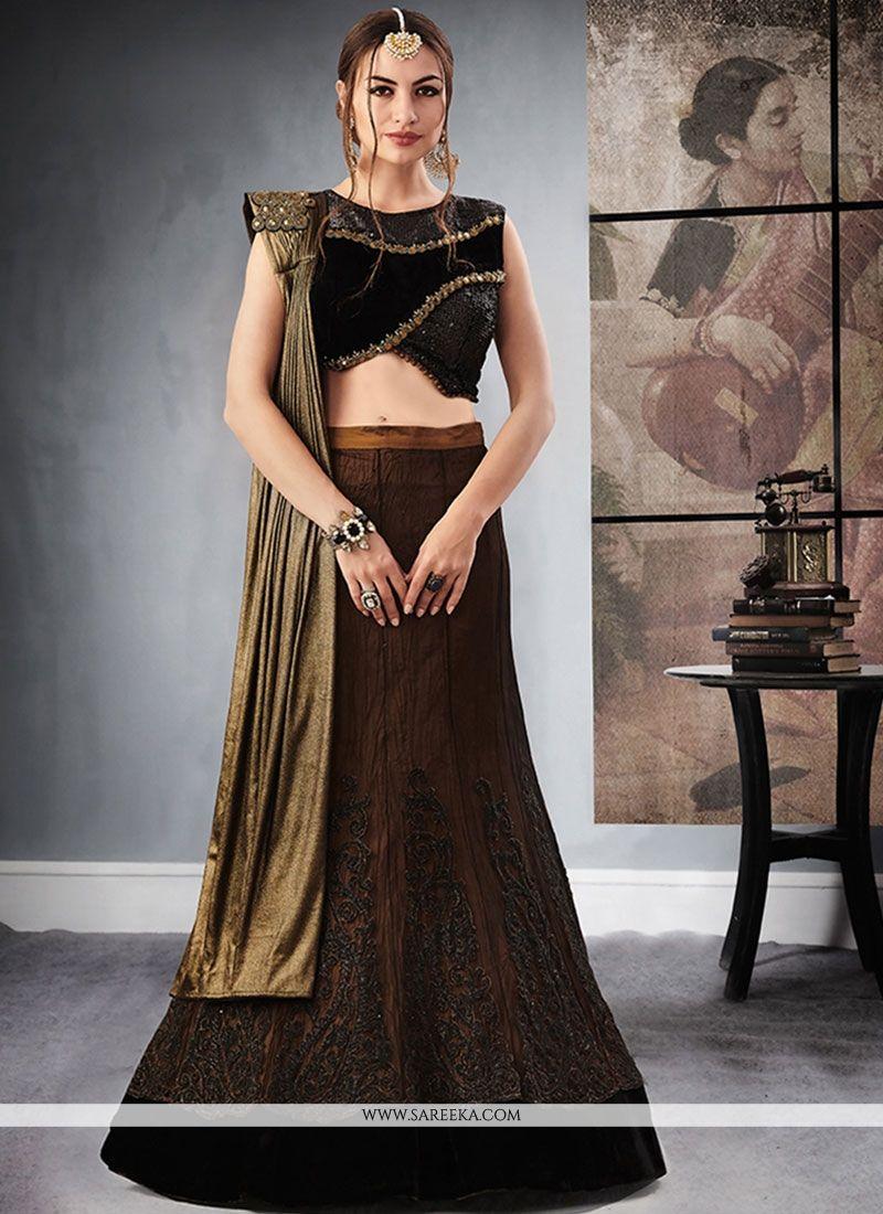 4774e6b8e4 Buy Jacquard Silk Lehenga Choli Online : 72267 -