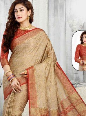 Jacquard Zari Classic Designer Saree