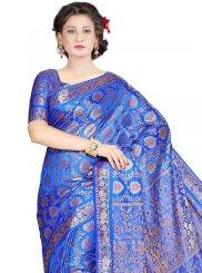 Kanchipuram silk Weaving Work Classic Designer Saree