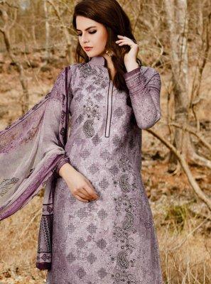 Lavender Pant Style Suit