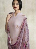 Lavender Party Designer Pakistani Suit