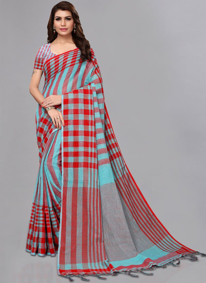 74f32af6c042b3 Buy Online Linen Casual Casual Saree : 97041 - Saree