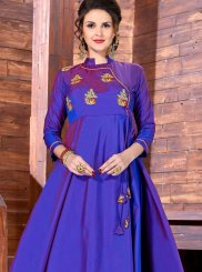 Lovable Art Silk Readymade Gown