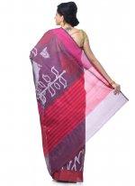 Magenta Zari Banarasi Silk Classic Designer Saree