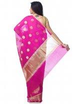 Magenta Zari Classic Designer Saree