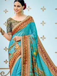 Multi Colour Art Silk Party Traditional Designer Saree