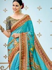 Multi Colour Art Silk Party Traditional Designer Saree