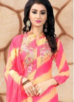 Multi Colour Churidar Salwar Kameez