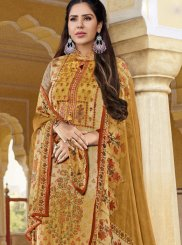 Multi Colour Embroidered Designer Pakistani Suit