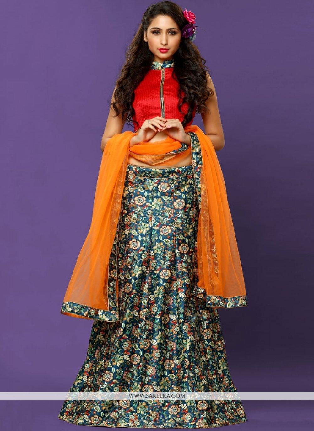 Multi Colour Lehenga Choli