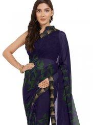Multi Colour Print Casual Printed Saree