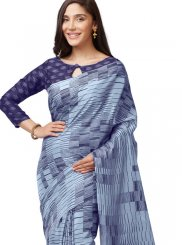 Multi Colour Printed Casual Casual Saree