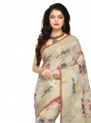 Multi Colour Silk Wedding Classic Saree
