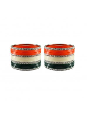 Multi Colour Stone Work Festival Bangles