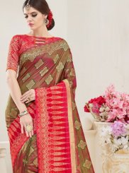 Multi Colour Weaving Art Silk Designer Traditional Saree