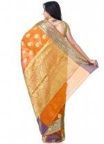 Mustard Classic Designer Saree