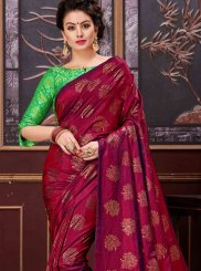 Net Print Work Designer Saree