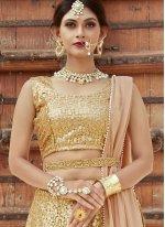 Net Sequins Work Designer Lehenga Choli