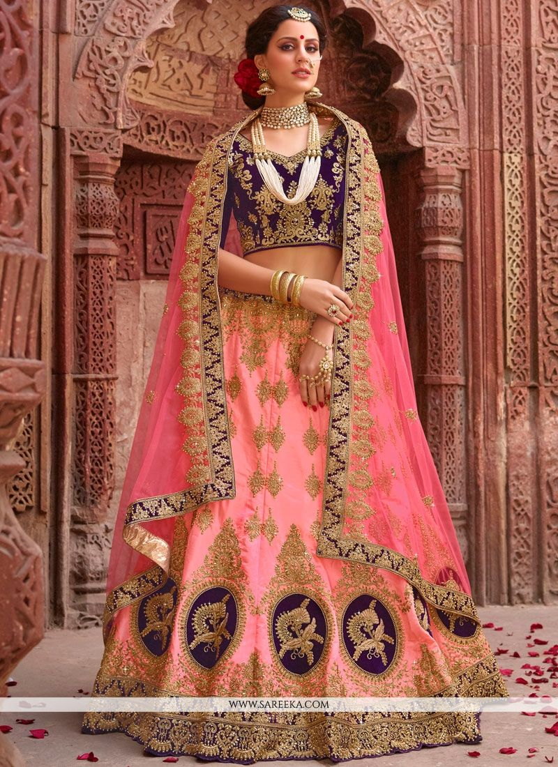 Patch Border Work Lehenga Choli