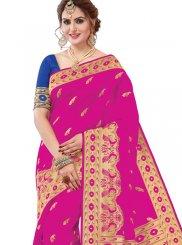 Pink Ceremonial Designer Saree